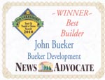 Peoples Choice Award Winner 2010 for Best Builder - Manistee, Michigan